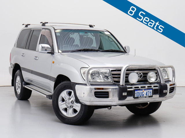 Used Toyota Landcruiser UZJ100R Upgrade II GXL (4x4), 2007 Toyota Landcruiser UZJ100R Upgrade II GXL (4x4) Silver 5 Speed Automatic Wagon