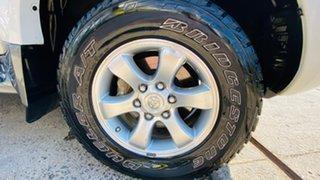 2009 Toyota Landcruiser Prado KDJ120R GXL White 5 Speed Automatic Wagon
