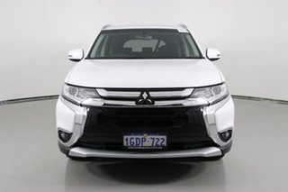 2016 Mitsubishi Outlander ZK MY17 LS Safety Pack (4x2) White Continuous Variable Wagon.