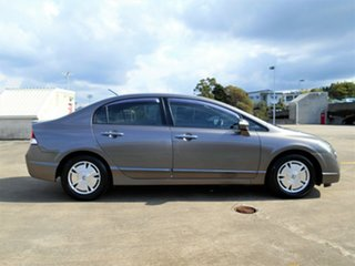 2008 Honda Civic 8th Gen MY08 Hybrid Grey 1 Speed Constant Variable Sedan Hybrid