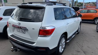 2012 Toyota Kluger GSU40R MY12 Grande 2WD White 5 Speed Sports Automatic Wagon