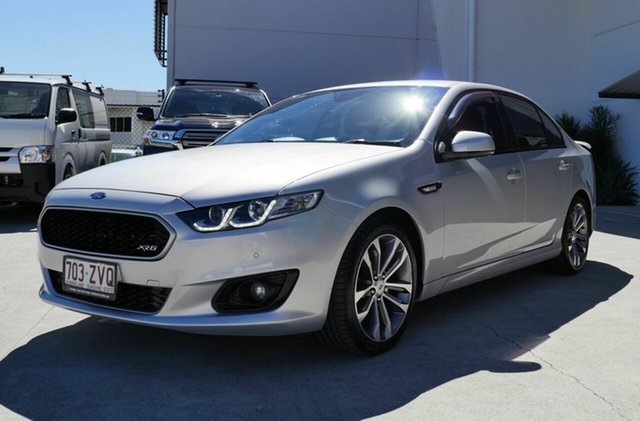 Used Ford Falcon FG X XR6 Capalaba, 2016 Ford Falcon FG X XR6 Silver 6 Speed Sports Automatic Sedan