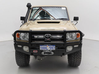 2019 Toyota Landcruiser VDJ79R GXL (4x4) Sandy Taupe 5 Speed Manual Double Cab Chassis.