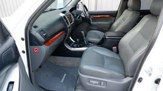 2005 Toyota Landcruiser Prado KZJ120R Grande Pearl White 4 Speed Automatic Wagon
