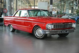 1965 Ford Falcon XP Deluxe Red 3 Speed Automatic Hardtop.
