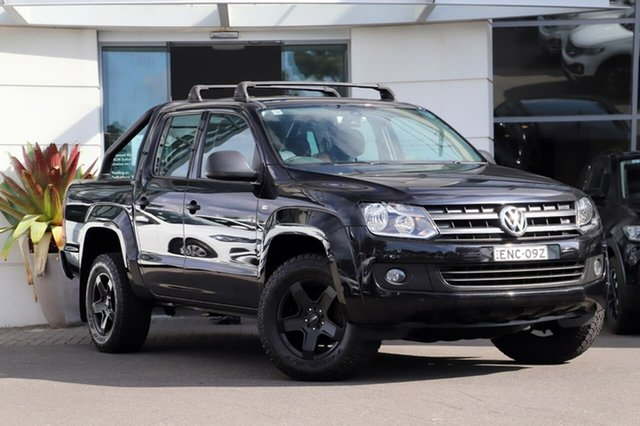 Used Volkswagen Amarok 2H MY16 TDI420 4MOTION Perm Core Sutherland, 2016 Volkswagen Amarok 2H MY16 TDI420 4MOTION Perm Core Black 8 Speed Automatic Utility