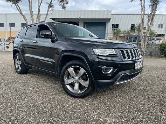Used Jeep Grand Cherokee WK MY15 Limited (4x4) Underwood, 2015 Jeep Grand Cherokee WK MY15 Limited (4x4) Black 8 Speed Automatic Wagon