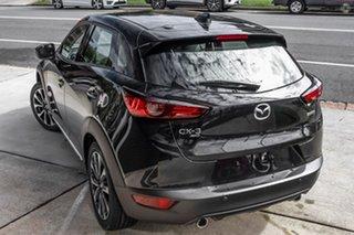 2021 Mazda CX-3 DK4W7A Akari SKYACTIV-Drive i-ACTIV AWD Black 6 Speed Sports Automatic Wagon