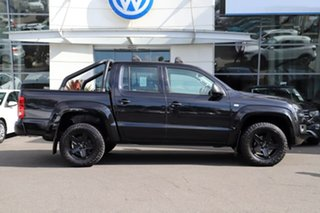 2016 Volkswagen Amarok 2H MY16 TDI420 4MOTION Perm Core Black 8 Speed Automatic Utility.