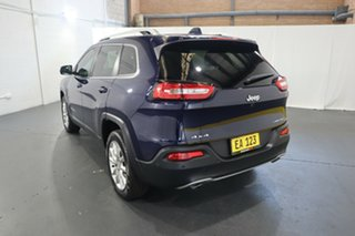 2014 Jeep Cherokee KL Limited Dark Blue 9 Speed Sports Automatic Wagon
