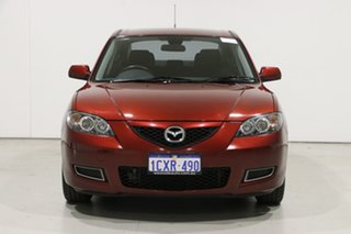 2008 Mazda 3 BK MY06 Upgrade Neo Red 4 Speed Auto Activematic Sedan.