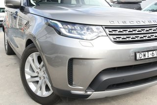 2018 Land Rover Discovery Series 5 L462 MY18 HSE Silver Gold 8 Speed Sports Automatic Wagon.
