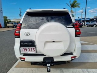 2017 Toyota Landcruiser Prado GDJ150R GXL Glacier White 6 Speed Sports Automatic Wagon.