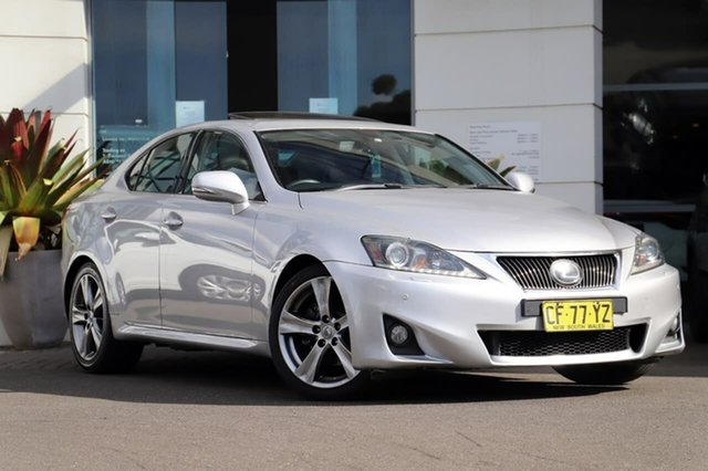 Used Lexus IS GSE20R MY10 IS250 Sports Luxury Sutherland, 2010 Lexus IS GSE20R MY10 IS250 Sports Luxury Silver 6 Speed Sports Automatic Sedan