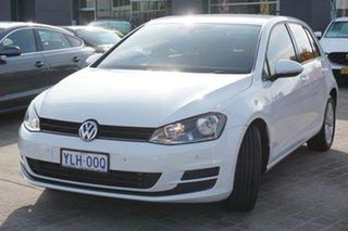 2014 Volkswagen Golf VII MY14 90TSI DSG White 7 Speed Sports Automatic Dual Clutch Hatchback