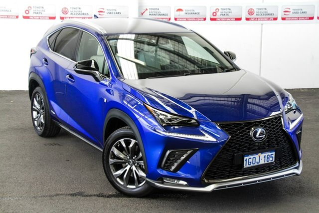 Pre-Owned Lexus NX300H AYZ15R MY17 Facelift F-Sport Hybrid (AWD) Rockingham, 2018 Lexus NX300H AYZ15R MY17 Facelift F-Sport Hybrid (AWD) 6 Speed CVT Auto Sequential Wagon