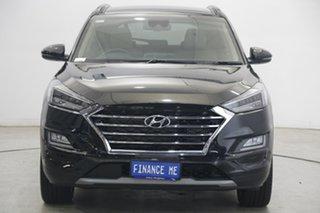 2020 Hyundai Tucson TL3 MY20 Highlander D-CT AWD Black 7 Speed Sports Automatic Dual Clutch Wagon.
