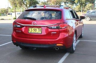 2013 Mazda 6 6C Atenza Red 6 Speed Automatic Wagon