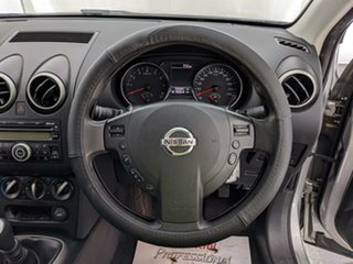 2010 Nissan Dualis J10 Series II MY2010 ST Hatch Silver 6 Speed Manual Hatchback