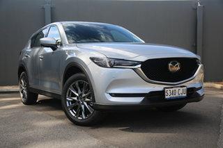 2021 Mazda CX-5 KF4WLA Akera SKYACTIV-Drive i-ACTIV AWD Sonic Silver 6 Speed Sports Automatic Wagon.