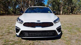2021 Kia Cerato BD MY21 GT DCT Snow White Pearl 7 Speed Automatic Sedan.