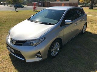 2012 Toyota Corolla ZRE182R Ascent Sport Silver Pearl 7 Speed CVT Auto Sequential Hatchback.