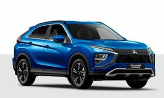 2021 Mitsubishi Eclipse Cross YB MY21 Aspire 2WD Blue 8 Speed Constant Variable Wagon
