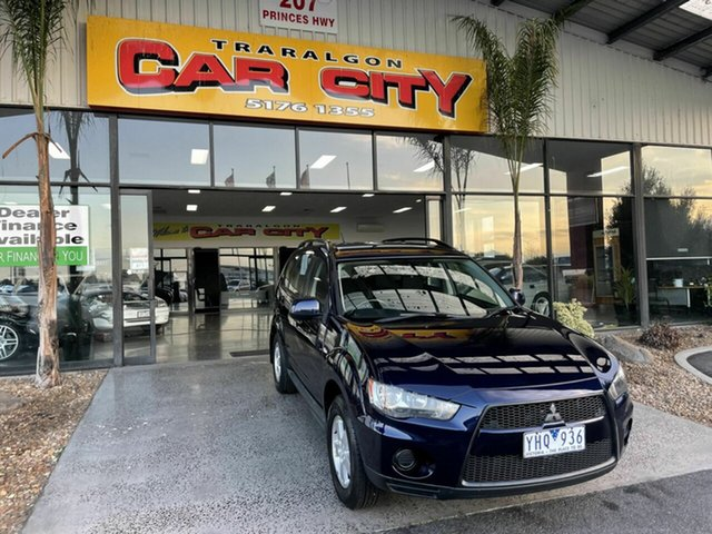 Used Mitsubishi Outlander ZH MY11 LS Traralgon, 2011 Mitsubishi Outlander ZH MY11 LS Blue 6 Speed CVT Auto Sequential Wagon