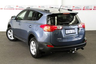 2013 Toyota RAV4 ASA44R GXL (4x4) Cosmos Blue 6 Speed Automatic Wagon.