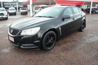 2016 Holden Commodore VF II MY16 Evoke Black 6 Speed Sports Automatic Sedan.