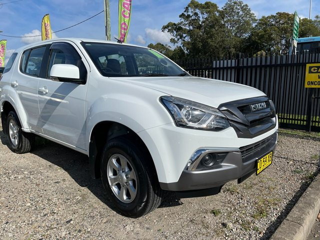 Used Isuzu MU-X MY17 LS-M Rev-Tronic 4x2 Glendale, 2017 Isuzu MU-X MY17 LS-M Rev-Tronic 4x2 White 6 Speed Sports Automatic Wagon