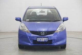2013 Honda Jazz GE MY13 Vibe Blue 5 Speed Automatic Hatchback.