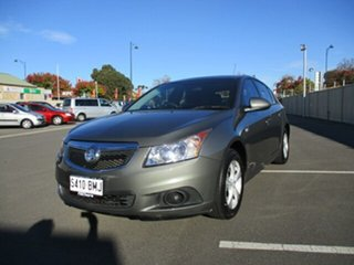 2012 Holden Cruze JH Series II MY12 CD Dark Green 6 Speed Sports Automatic Hatchback.