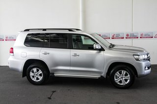 2019 Toyota Landcruiser VDJ200R GXL Silver Pearl 6 Speed Sports Automatic Wagon