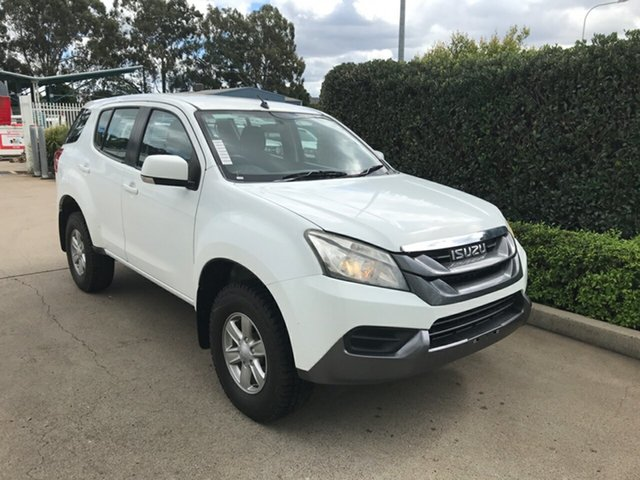 Used Isuzu MU-X MY15.5 LS-M Rev-Tronic Acacia Ridge, 2016 Isuzu MU-X MY15.5 LS-M Rev-Tronic White 5 speed Automatic Wagon