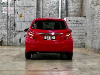 2015 Toyota Yaris NCP130R Ascent Cosmopolitan 4 Speed Automatic Hatchback