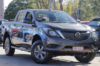 2017 Mazda BT-50 UR0YG1 XT Brown 6 Speed Manual Utility.