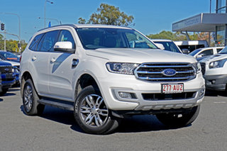 2020 Ford Everest UA II 2020.75MY Trend Alabaster White 10 Speed Sports Automatic SUV.