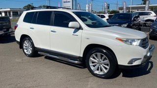 2012 Toyota Kluger GSU40R MY12 Grande 2WD White 5 Speed Sports Automatic Wagon.