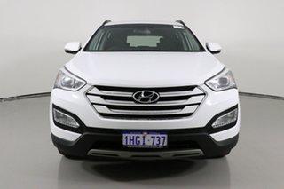 2015 Hyundai Santa Fe DM Series II (DM3) Active CRDi (4x4) White 6 Speed Automatic Wagon.