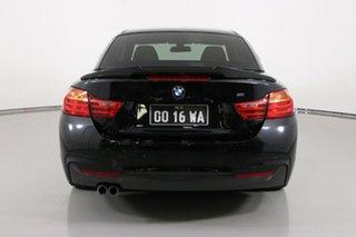 2014 BMW 428i F33 Modern Line Black 8 Speed Automatic Convertible
