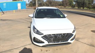 2021 Hyundai i30 PD.V4 MY21 Polar White 6 Speed Sports Automatic Hatchback