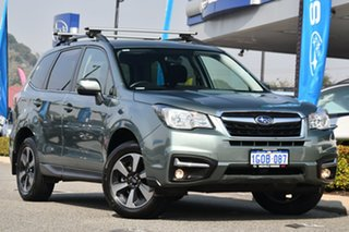 2018 Subaru Forester S4 MY18 2.5i-L CVT AWD Jasmine Green 6 Speed Constant Variable Wagon.