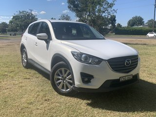 2015 Mazda CX-5 KE1072 Maxx SKYACTIV-Drive Sport White 6 Speed Sports Automatic Wagon.