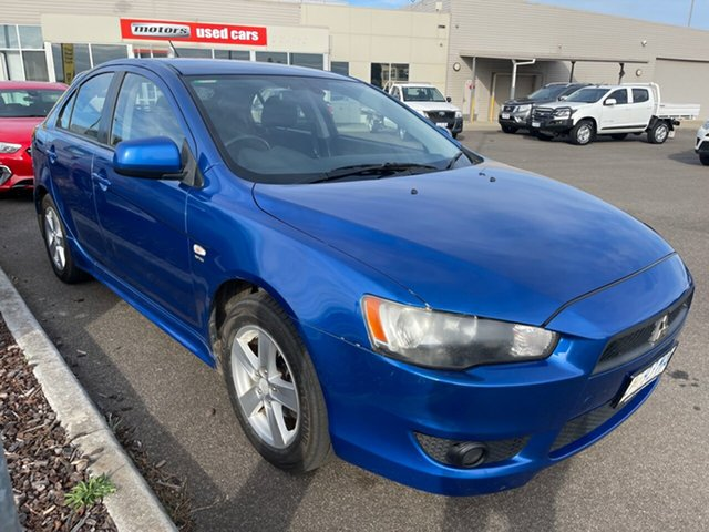 Used Mitsubishi Lancer CJ MY09 VR Sportback Devonport, 2009 Mitsubishi Lancer CJ MY09 VR Sportback Blue 6 Speed Constant Variable Hatchback