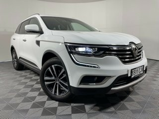 2018 Renault Koleos HZG Initiale X-tronic White 1 Speed Constant Variable Wagon.