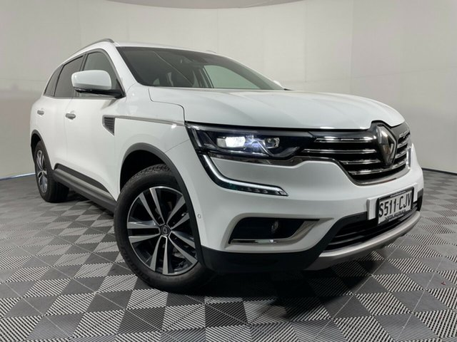 Used Renault Koleos HZG Initiale X-tronic Wayville, 2018 Renault Koleos HZG Initiale X-tronic White 1 Speed Constant Variable Wagon