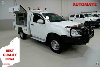 2016 Isuzu D-MAX MY15 SX White 5 Speed Sports Automatic Cab Chassis.