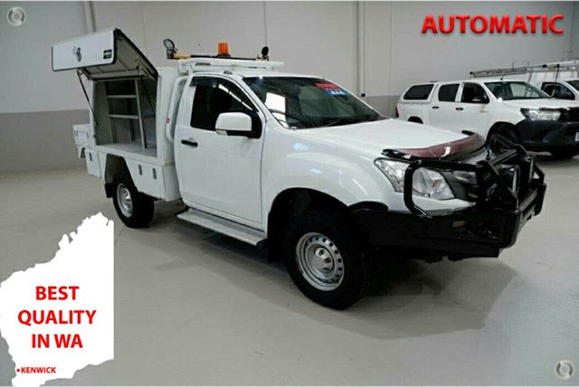 Used Isuzu D-MAX MY15 SX Kenwick, 2016 Isuzu D-MAX MY15 SX White 5 Speed Sports Automatic Cab Chassis
