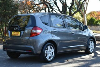 2012 Honda Jazz GE MY12 GLi Grey 5 Speed Manual Hatchback